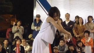 加納真実さん in  静岡大道芸 「砂」 2013.11.3