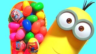 Giant Minions Kevin Surprise Eggs