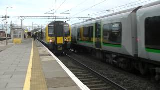 preview picture of video 'London Midland 350234 departing Bushey'