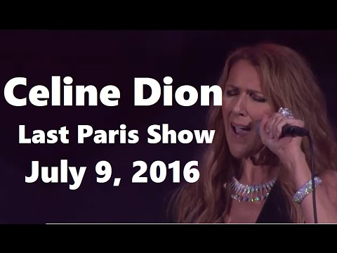 Celine Dion - FAN DVD - Live In AccorHotels Arena, Paris (HD Pro Footage, July 9 2016) Mp3