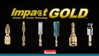 MAKITA Impact GOLD™ The New Gold Standard in Impact Driving - Thumbnail