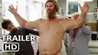 "AVENGERS ENDGAME ""Becoming Fat Thor"" Behind the Scenes Bonus Clip (2019) Chris Hemsworth Move HD"