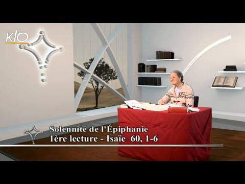 Fête de l'Epiphanie B - 1ère lecture