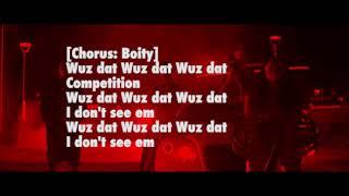 Boity, Nasty C   Wuz Dat (LYRIC VIDEO)