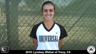 Committed Holy Names University 2018 Lyndsey Widner Catcher, Outfield Softball Skills Video