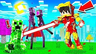 Hraju jako IRON MAN v Minecraftu!