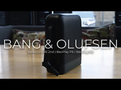 Беспроводная колонка Bang & Olufsen Beoplay P2 (бежевый)