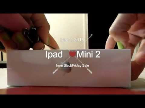 BlackFriday Sale 2015 - Unboxing of Ipad Mini 2 from Walmart Online