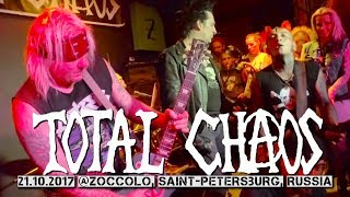 Total Chaos - live @Zoccolo club, St.Petersburg, Russia 21.10.2017
