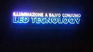 preview picture of video 'LED NAPOLI POMIGLIANO D'ARCO LEDTECHNOLOGY'