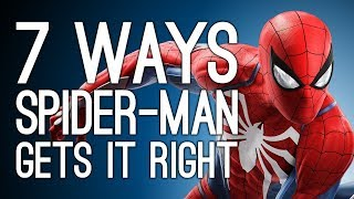 7 Ways Spider-Man PS4 Gets Spider-Man Right, At Last