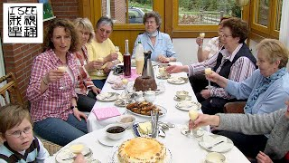 德国美食黑麦面包及威斯特法伦乡村生活