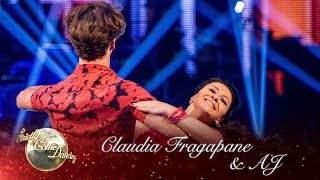 Claudia Fragapane & AJ Pritchard Waltz to 'You Light Up My Life'- Strictly Come Dancing 2016: Week 2