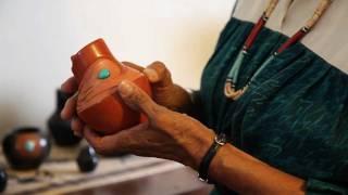Dora Tse-Pe, Potter of San Ildefonso Pueblo