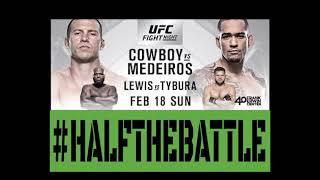 UFC Austin: Cowboy vs Medeiros Bets, Picks, Predictions on Half The Battle