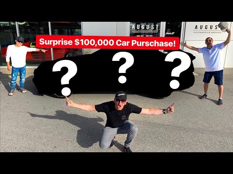 REVEALING SURPRISE NEW EXOTIC CAR PURCHASE!