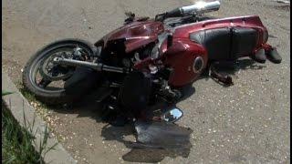 Хабаровский байкер сбил двоих детей.MestoproTV