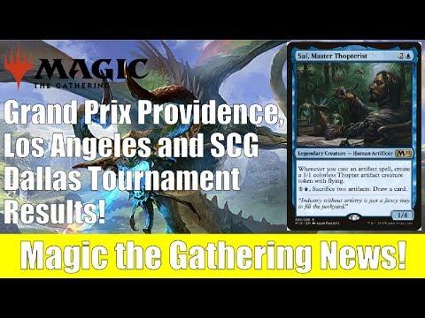Grand Prix Providence, Los Angeles and SCG Dallas MTG Tournament Results