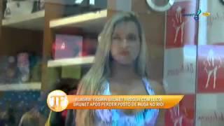 Yasmin Brunet é deixada de lado por escola de samba