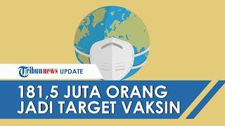 Sebanyak 181,5 Juta Orang akan Jadi Target Vaksinasi Covid-19, Dilakukan secara Bertahap