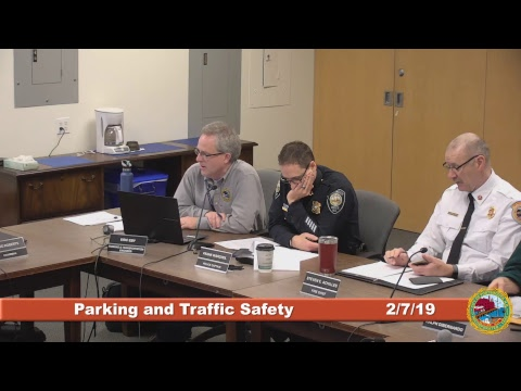 Parking and Traffic Safety Committee 2.7.2019