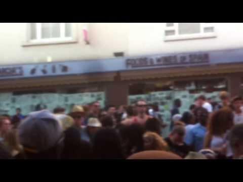 Notting Hill Carnival - G Force Sound @ PORTOBELLO ROAD 26/08/2013 - part 1