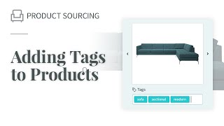 Adding tags to products