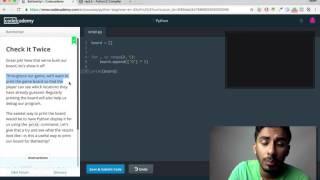 Codecademy - Python: Tutorial #17