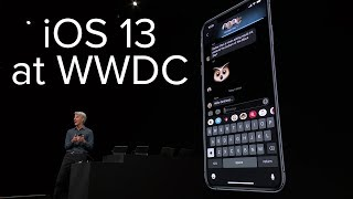 iOS 13 announcement in 10 minutes