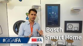 Bosch Smart Home: Lösungen für Sicherheit und Haussteuerung in der Übersicht - IFA 2016 - GIGA.DE