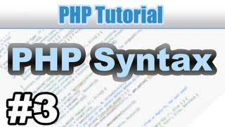 #3 - PHP Grundlagen (Syntax und PHP Info) - PHP Tutorial Deutsch German