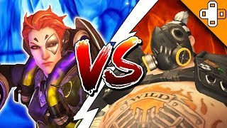 TOP 10 ANIME BATTLES OF ALL TIME! Overwatch Funny & Epic Moments 520