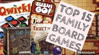 Top 10 Family Board Games (with 5 bonus picks)