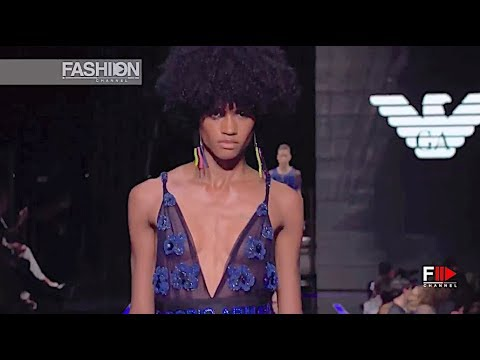 EMPORIO ARMANI Spring Summer 2019 Milan - Fashion Channel