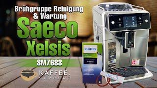 Saeco Xelsis SM7683/10 Brühgruppe Reinigung & Wartung