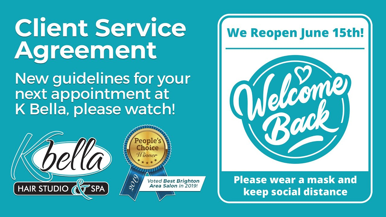 K Bella Service Agreement - 6/10/2020