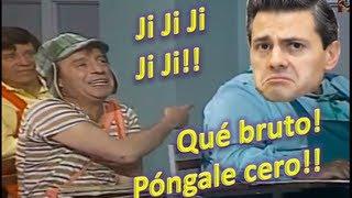 Peña Nieto y el chavo del 8 en clase de inglés HD