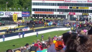 NHRA Funny Car Final at 2017 Southern Nationals
