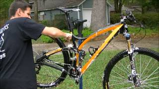 How to clean a bicycle in about 15 minutes