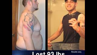 Ed Lost 93 Lbs.with The Beachbody Challenge