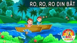 Ro, ro, ro din båt | Barnesanger på norsk | Norske Barnesanger
