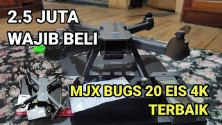 MJX BUGS 20 EIS 4K TERBAIK WAJIB BELI - UNBOXING