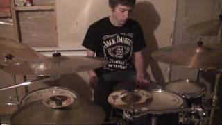 From First to Last Drum Cover: Populace in Two