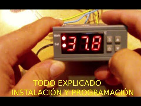 TERMOSTATO DIGITAL MH1210W Instalación y programación