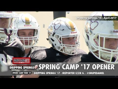 Fanstand '17: Dripping Springs Tigers (Spring Camp Tour)
