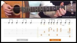 Jouer Hey hey (Big Bill Broonzy/Eric Clapton) - Cours guitare. Tuto + Tab