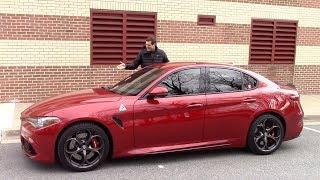 Вот почему Alfa Romeo Giulia Quadrifoglio стоит $80 000