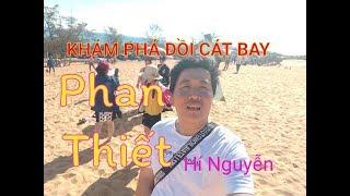 Đồi Cát Hồng Nơi đến Thú Vị ở Phan Thiết