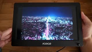 Review - Digitaler Bilderrahmen mit Bewegungsmelder von ICOCO