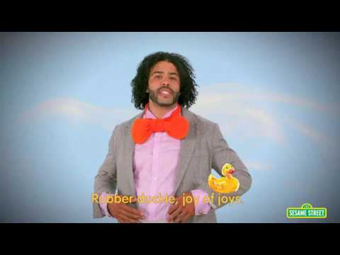 Daveed Diggs sings Rubber Duckie but every time he says